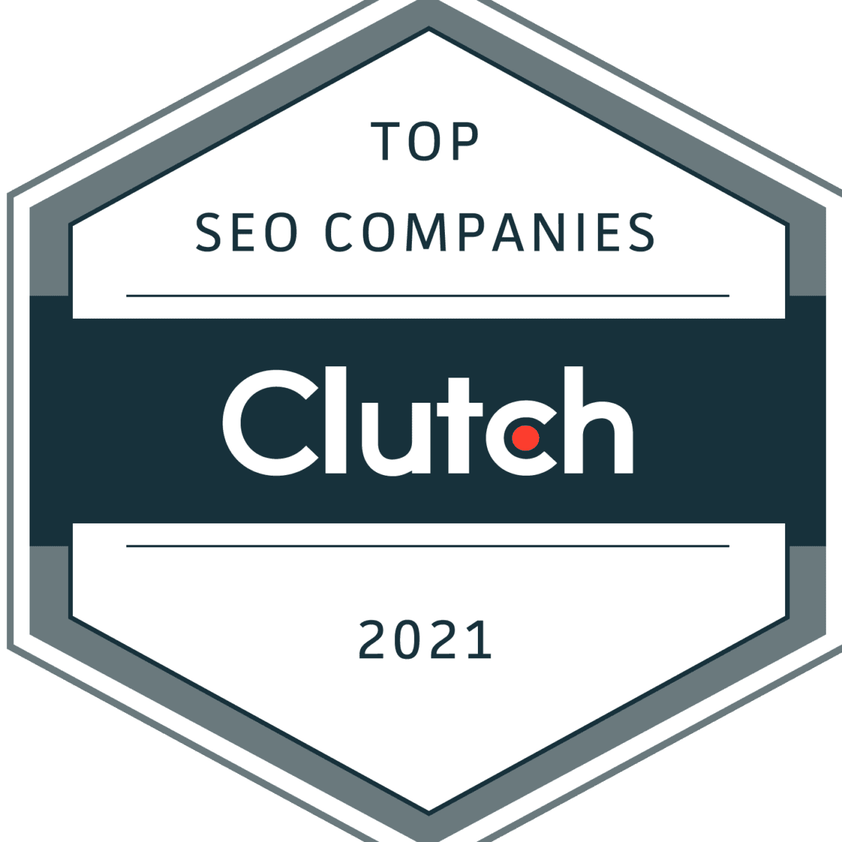 top seo company by clutch 2021 blink click media